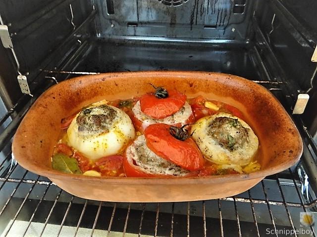 Gefüllte Mairübchen und Tomaten mit Polenta (14)