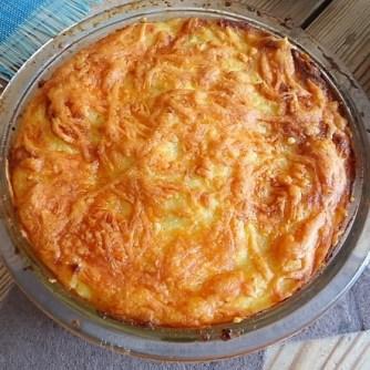 Gefüllte Zucchini mit Kartoffelauflauf (12)
