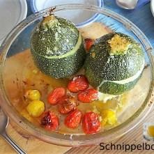 Gefüllte Zucchini mit Kartoffelauflauf (17)