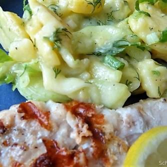 Rotbarsch,Kartoffel-Gurkensalat (19)