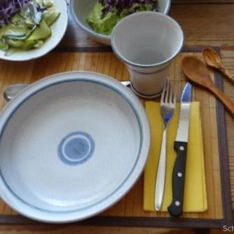 Zucchinisalat,Tomatensalat,Guacamole und Ofenkartoffeln (25)