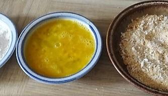 Frittierte Zucchini mit Gorgonzolasauce (10)