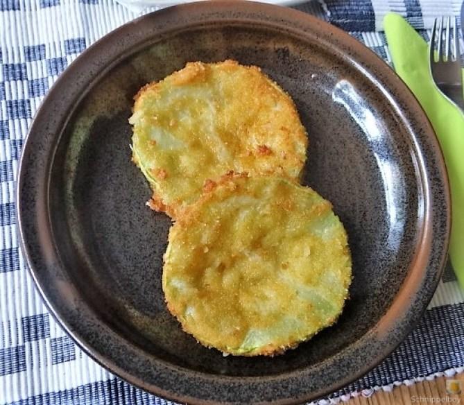 Frittierte Zucchini mit Gorgonzolasauce (26)