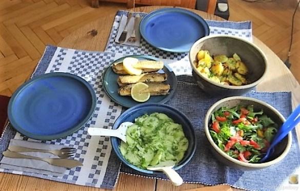 Grüner Hering,Salate,Bratkartoffel (4)