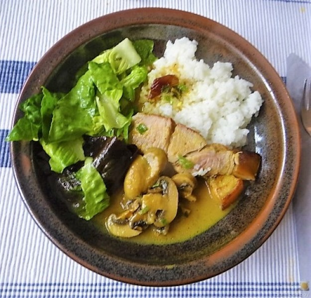 Sherryfleich,Reis,Salat (15)
