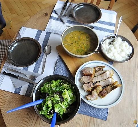 Sherryfleich,Reis,Salat (4)