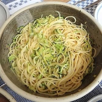 Spaghetti + Zoodles