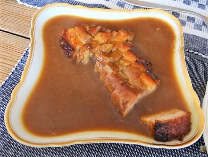 Bauchfleisch,Gnocchis,Bohnensalat (13).JPG