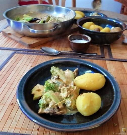 Brokkoli,Zucchini,Pilze in Labneh (13)