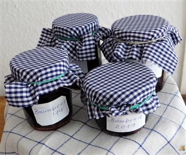 Brombeer Marmelade und Kompott (4)