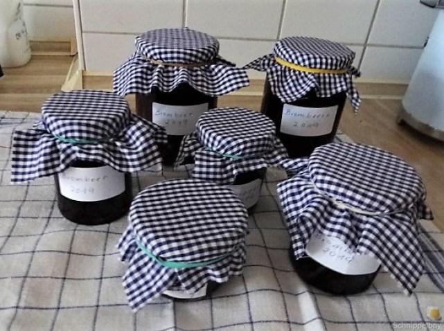 Brombeer Marmelade und Kompott (5)