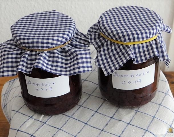 Brombeer Marmelade und Kompott (6)