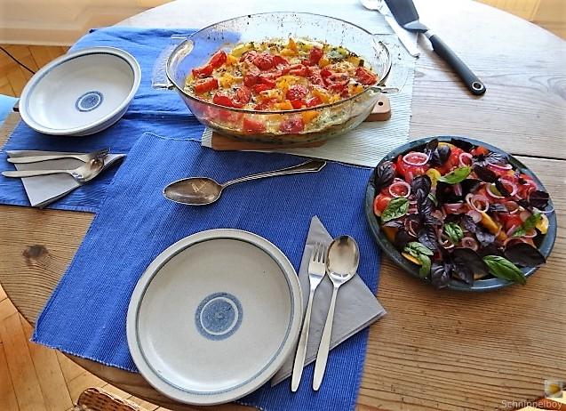 Polenta mit Babyspinat und Tomaten (22)