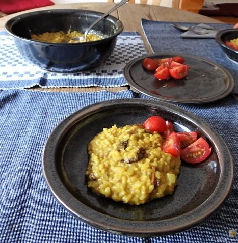 Safran-Tomaten Risotto (5)