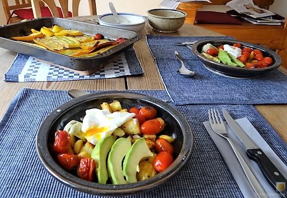 Gemüse Kartoffel und Ei (4)