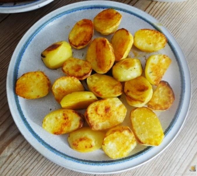 Geschnetzeltes, Kohlrabi,Karotten,Ofenkartoffeln (14)