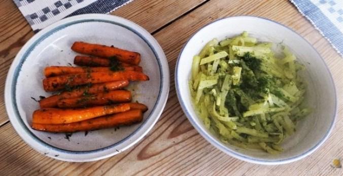 Geschnetzeltes, Kohlrabi,Karotten,Ofenkartoffeln (21)