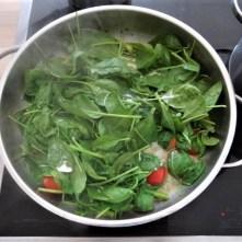 Knoblauchgrün,Gemüse,Kritharaki (16)