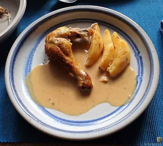 Maishähnchen mit Quitten (4)