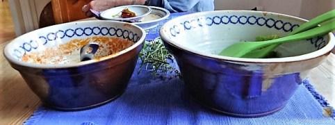 Brennessel Polenta mit Bolognese (28)