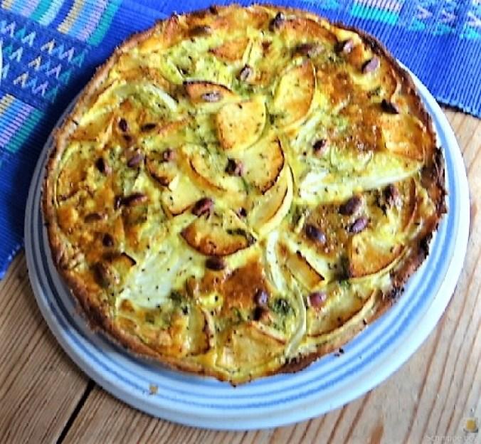 Fenchel-Apfel Tarte (4)