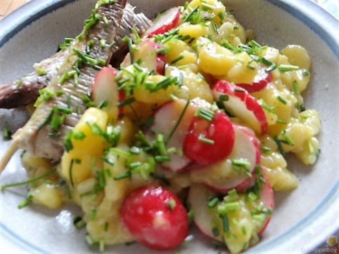 Kartoffelsalat und Makrele (1)