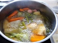 Risotto mit Safran, Salzzitrone und Spinat (10)
