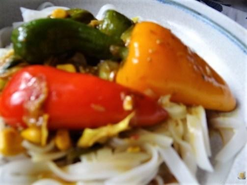 Gemüse in Kokosmilch und Reisnudeln (3)