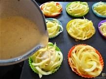 Kartoffelküchlein, Lachs, Meerrettichdip (15)
