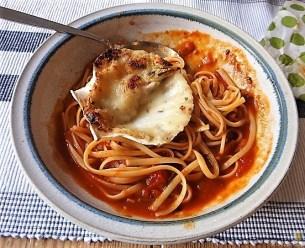 Linguine, scharfe Tomatensauce, Muschelragout (19)