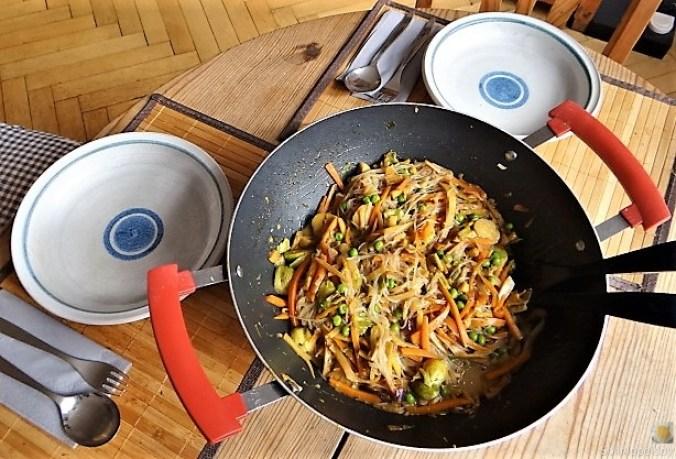 Wokgemüse mit Glasnudeln (5)