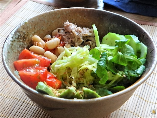 Avocado-Thunfisch Bowl (3)
