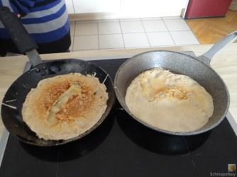 Buchweizenpfannkuchen,Ruccolapesto,Quittenkompott (22)