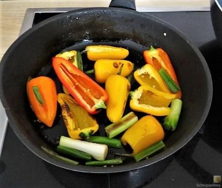 Falafel, Hummus, Gemüse, (12)