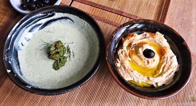 Falafel, Hummus, Gemüse, (17)