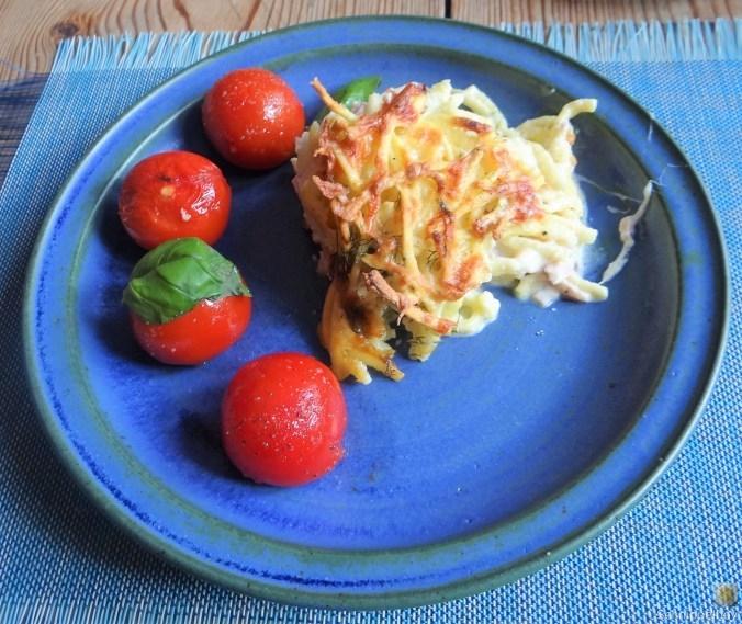 Fenchel Auflauf und Tomaten (1)