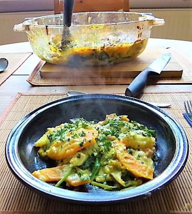 Kürbis.Kartoffel Auflauf (25)