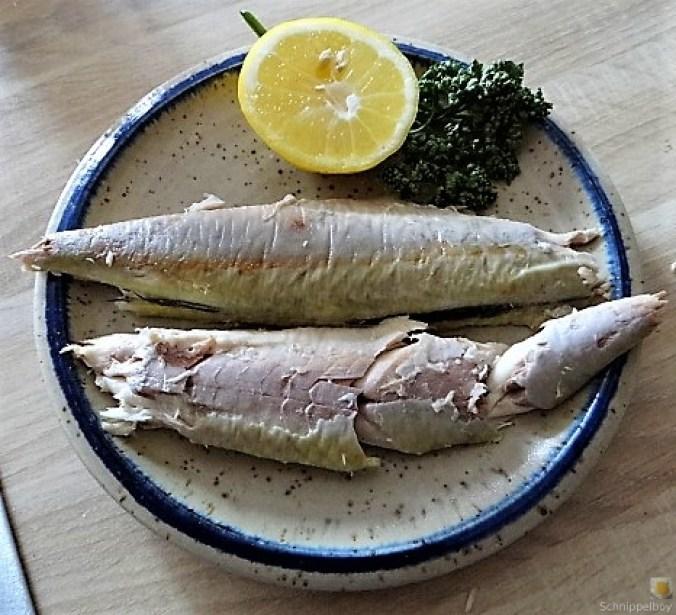 Kartoffelsalat, Makrele, Feldsalat (16)