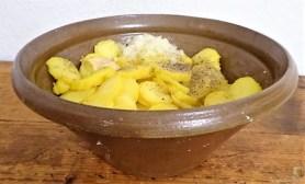 Kartoffelsalat, Makrele, Feldsalat (9)
