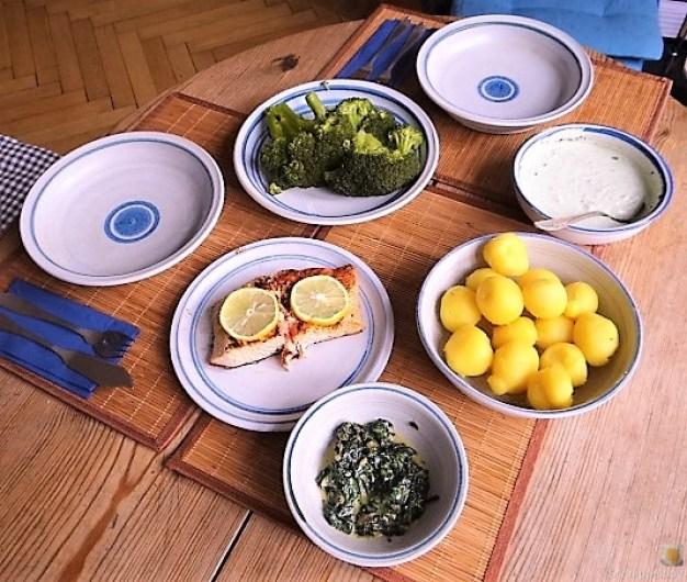 Lachs,Dip und Gemüse (17)