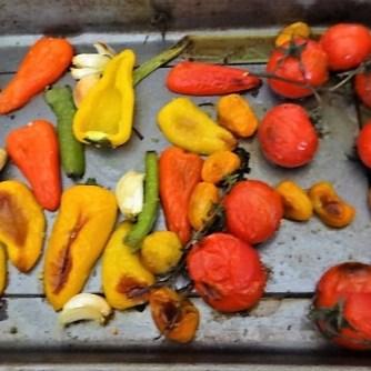 Nudeln mit Paprika und Tomaten (10)