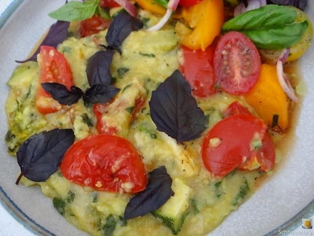Polenta-mit-Babyspinat-und-Tomaten-3
