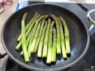 Bandnudeln,grüner Spargel, Tomaten und Bärlauchpesto (9)