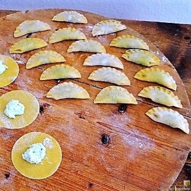 Ravioli mit Feta Spinat Füllung (5)