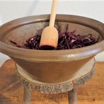Tassenei und Rotkohlsalat (16)