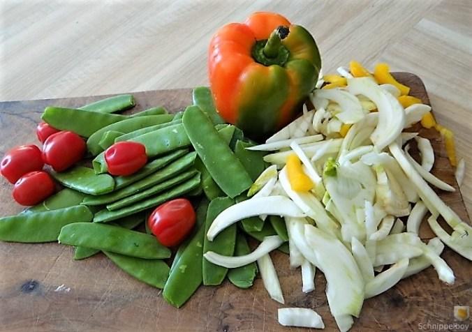 Wokgemüse mit Reisnudeln (7)