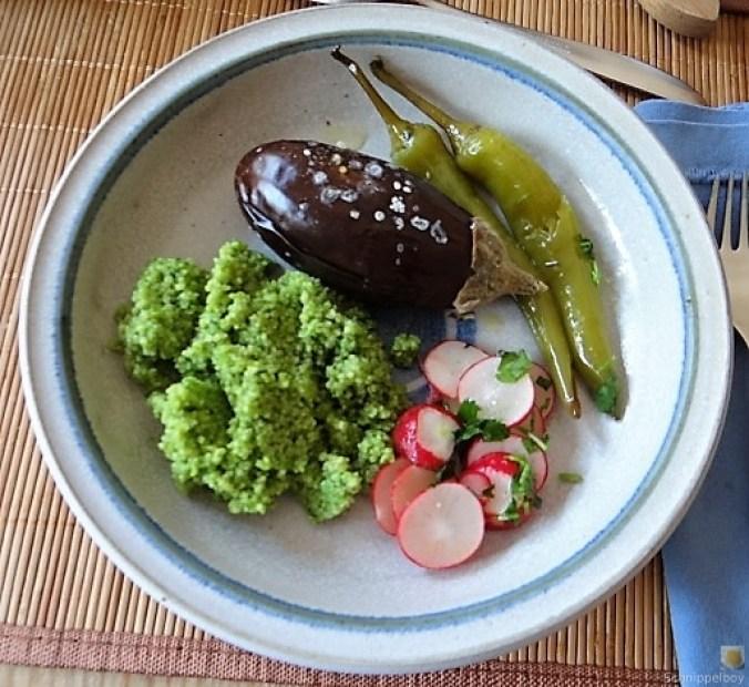 Gemüse mit Bärlauch Couscous (2)