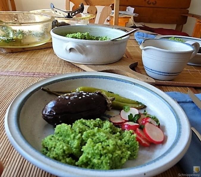 Gemüse mit Bärlauch Couscous (4)