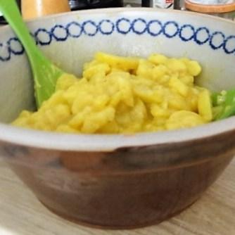 Kartoffel-Bärlauch-Gurkensalat, Kräuterseitlinge (11)