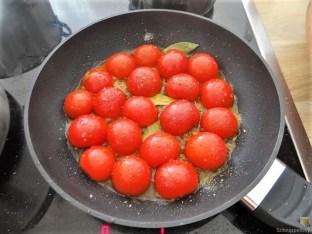 Wildkräuter Gnocchis, Poulardenbrust, Geschmorte Tomaten (23)